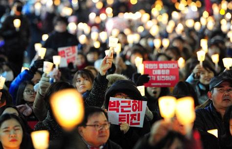 1210 촛불집회 <사진 = 뉴스1>