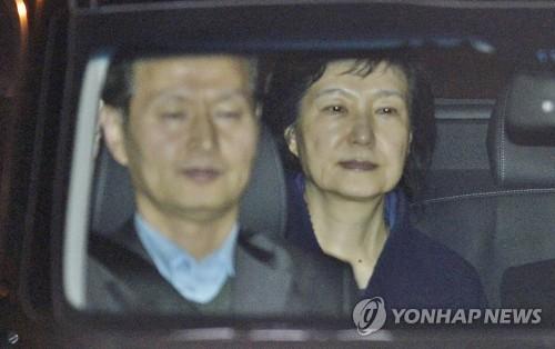 박근혜 전 대통령 '구치소행' <사진 = 연합뉴스>