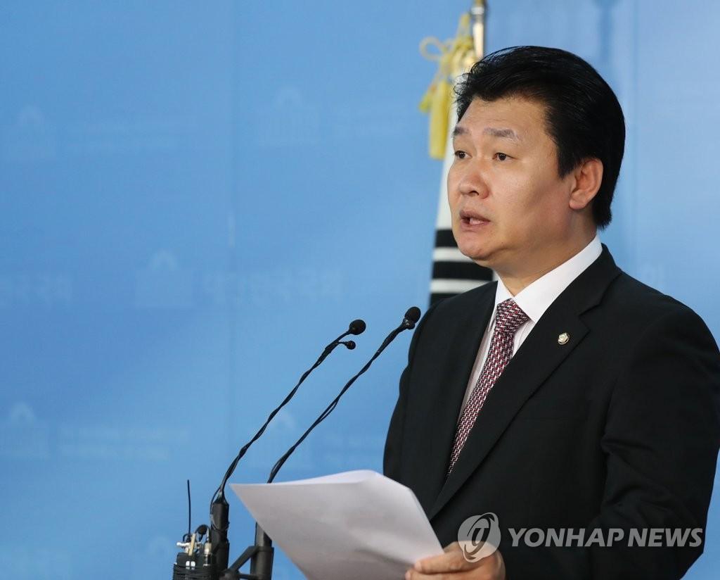자유한국당 정용기 정책위의장