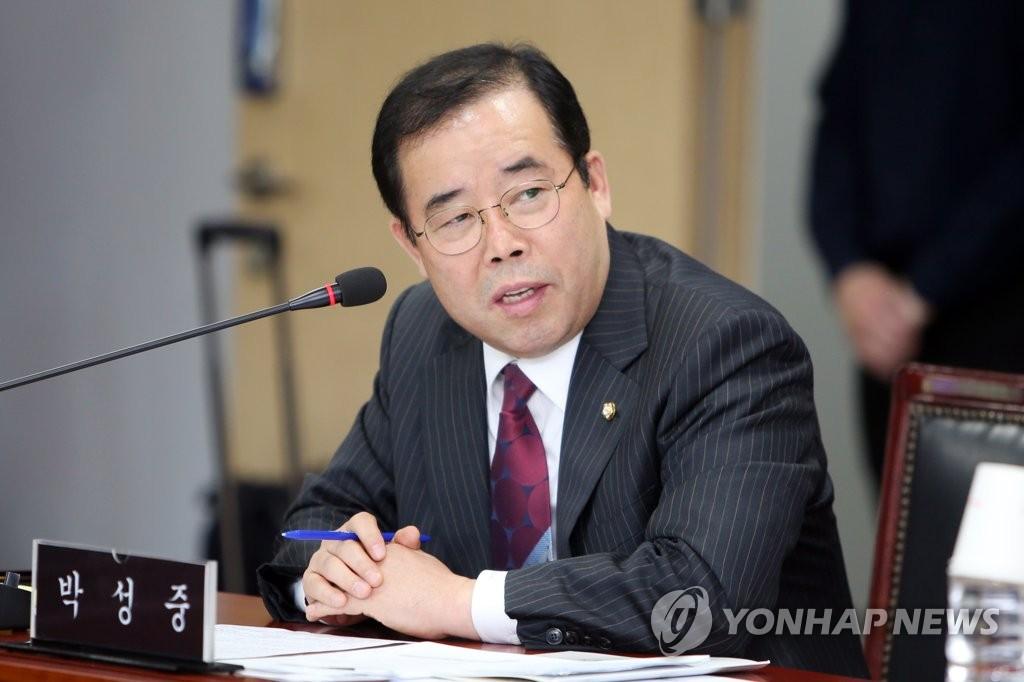 자유한국당 박성중 의원<사진=연합뉴스>