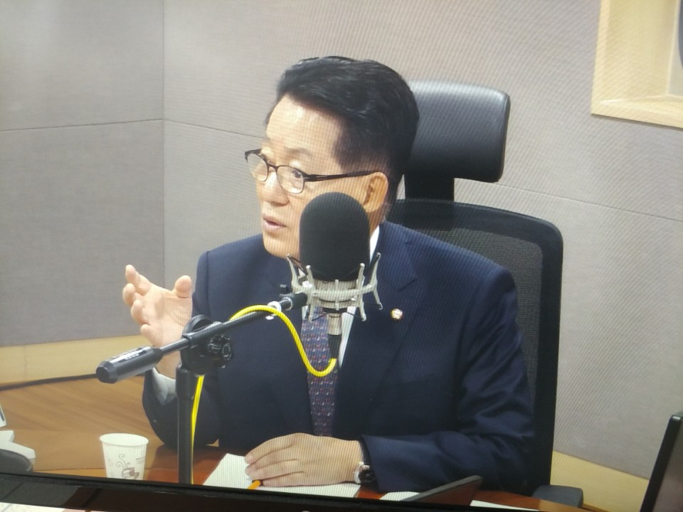 tbs '김어준의 뉴스공장' 출연한 국민의당 박지원 전 대표