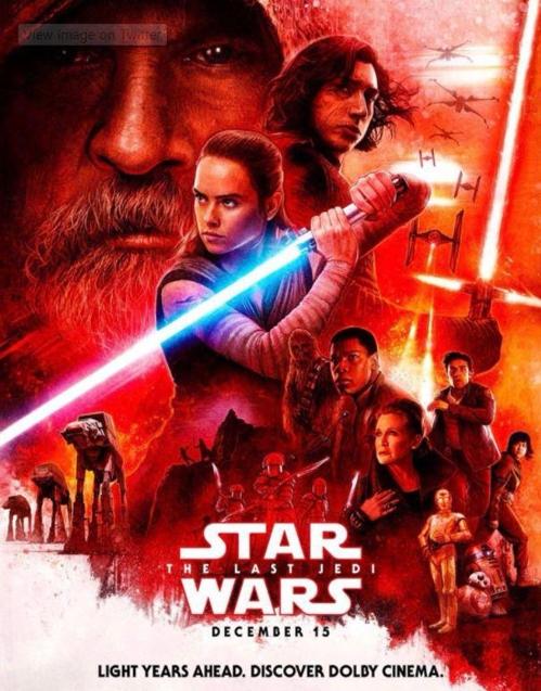 영화 <스타워즈: 라스트 제다이>포스터