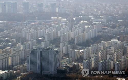 서울 강남구의 아파트 단지 <사진=연합>