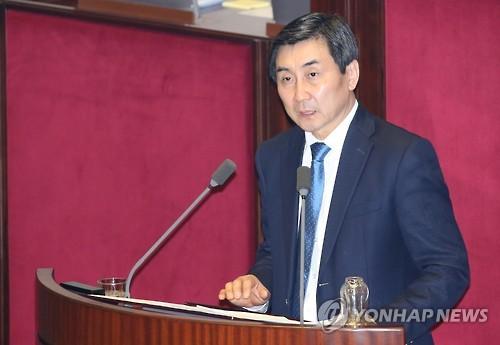 테러방지법 저지 무제한토론 나선 이종걸 의원 <사진=연합뉴스>