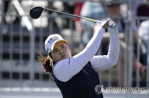 Korean golfer Park In-bee