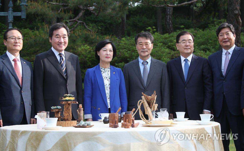 한자리에 모인 당정청<사진=연합뉴스>