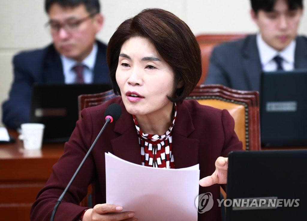한정애 더불어민주당 의원 <사진=연합뉴스>