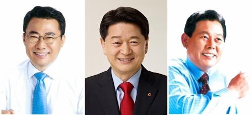 서울 중구청장 선거에 출마한 후보들. 왼쪽부터 서양호(민), 최창식(한), 정동일(평) <사진=연합뉴스>