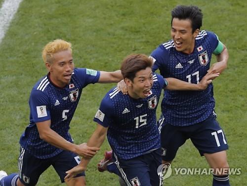 일본 월드컵 대표팀 <사진 = AP 연합뉴스>