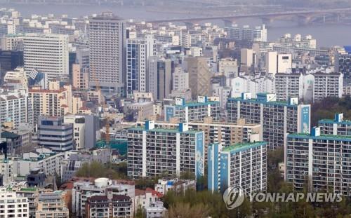 서울 강남권 아파트 전경 <사진=연합뉴스>