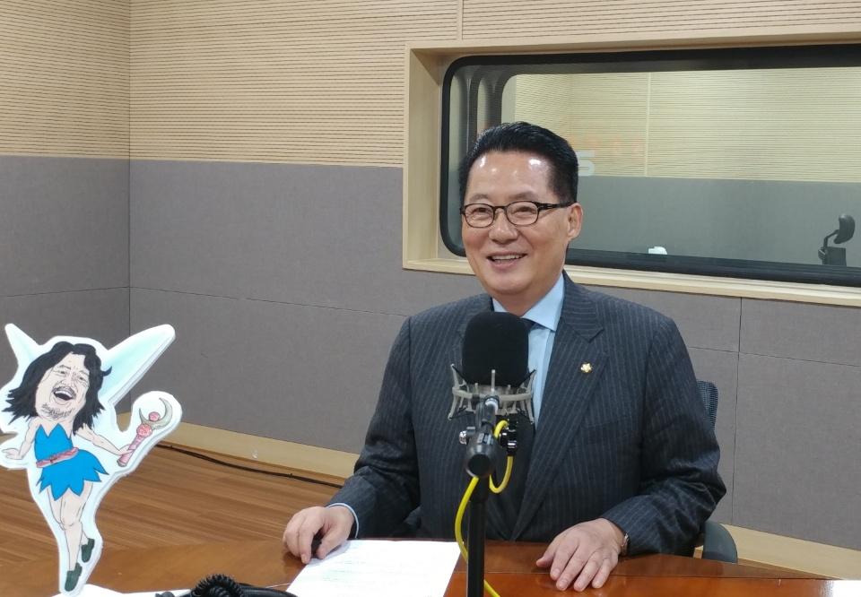 민주평화당 박지원 의원 <사진=안경원 기자>