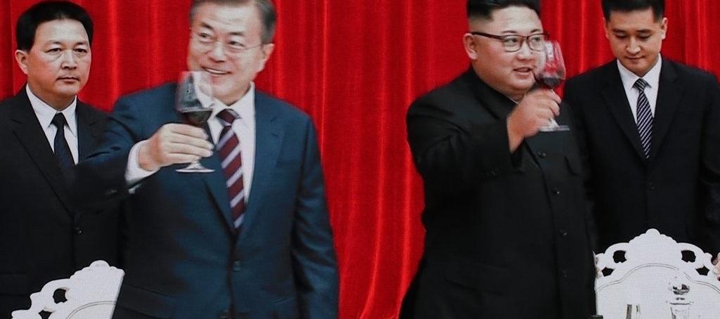 만찬 참석한 남북 정상<사진=평양사진공동취재단>