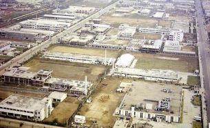 1976년 구로공단 항공사진 <사진=국가기록원>