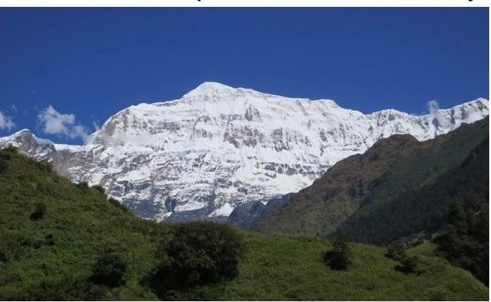 Mount Gurja Himal <Photo: Yonhap News>
