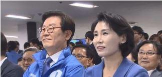이재명 경기지사와 부인 김혜경씨 <사진=연합뉴스>