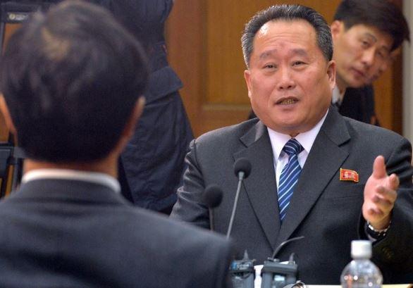 리선권 북한 조국평화통일위원회 위원장<사진=연합뉴스>