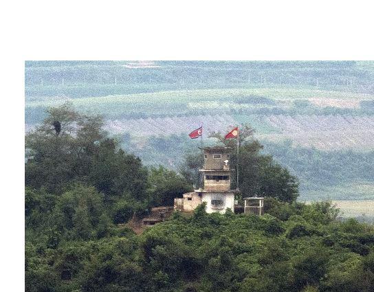 북한 감시초소,GP <사진=연합>