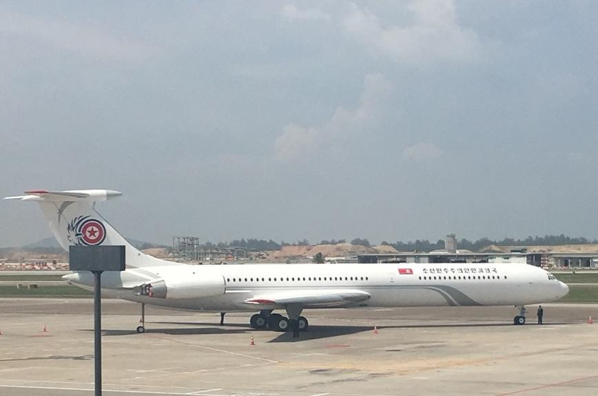 북한 항공기 <사진 = tbs>