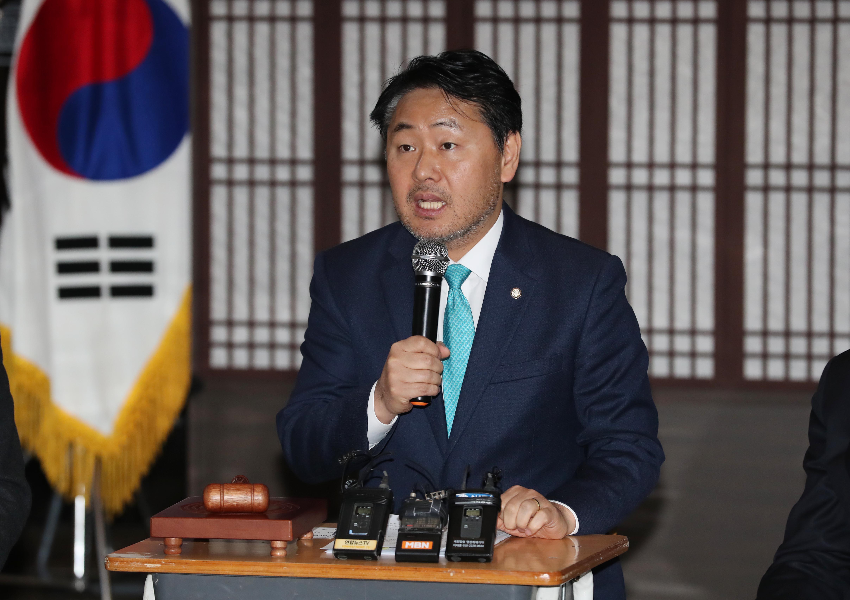 김관영 바른미래당 원내대표 <사진=연합>
