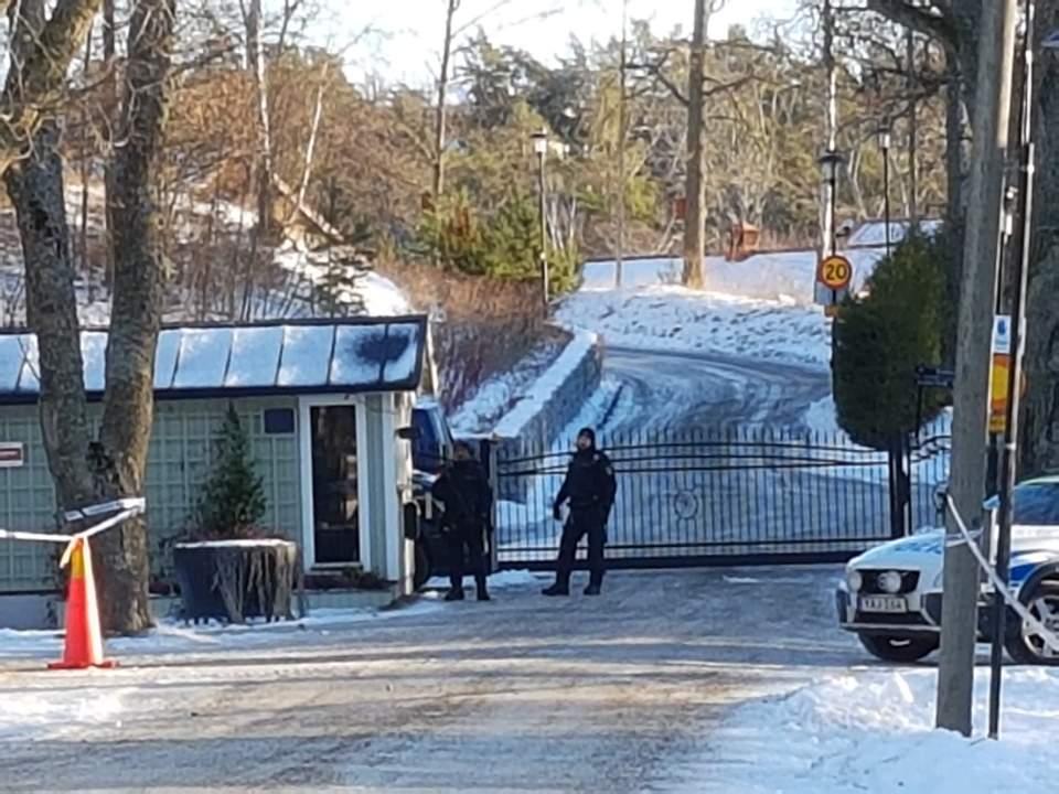 북미 협상이 진행되는 스웨덴 스톡홀름 외곽의 휴양지 모습 <사진=연합>