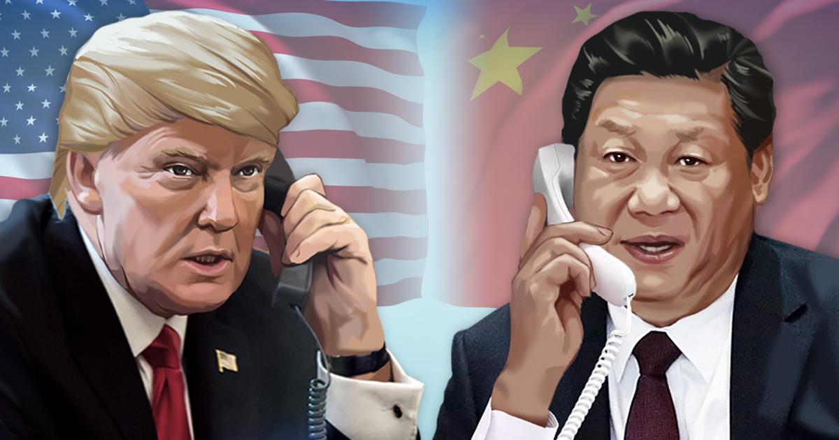 미국 트럼프 대통령ㆍ중국 시진핑 국가주석 <사진=연합>