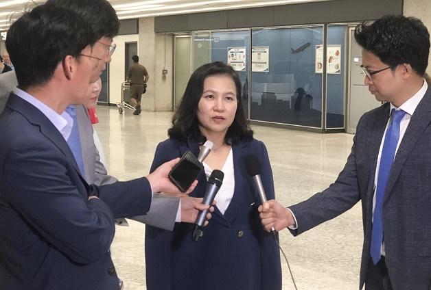 Trade Minister Yoo Myung-hee <Photo: Yonhap News>