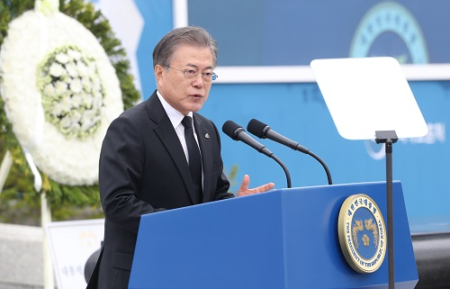 South Korean President Moon Jae-in <Photo: Yonhap News>
