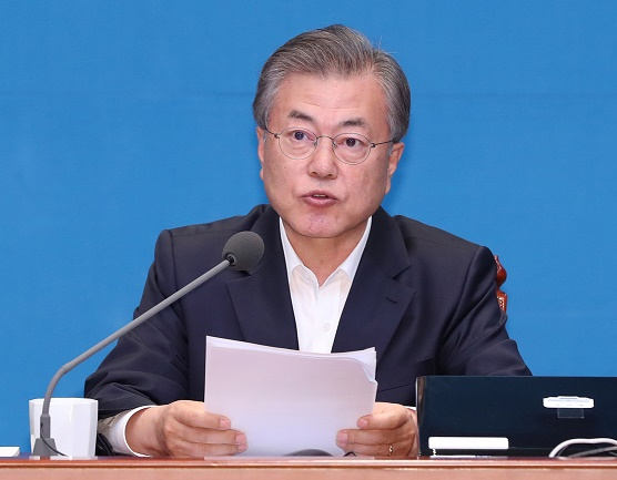 President Moon Jae-in <Photo: Yonhap News>