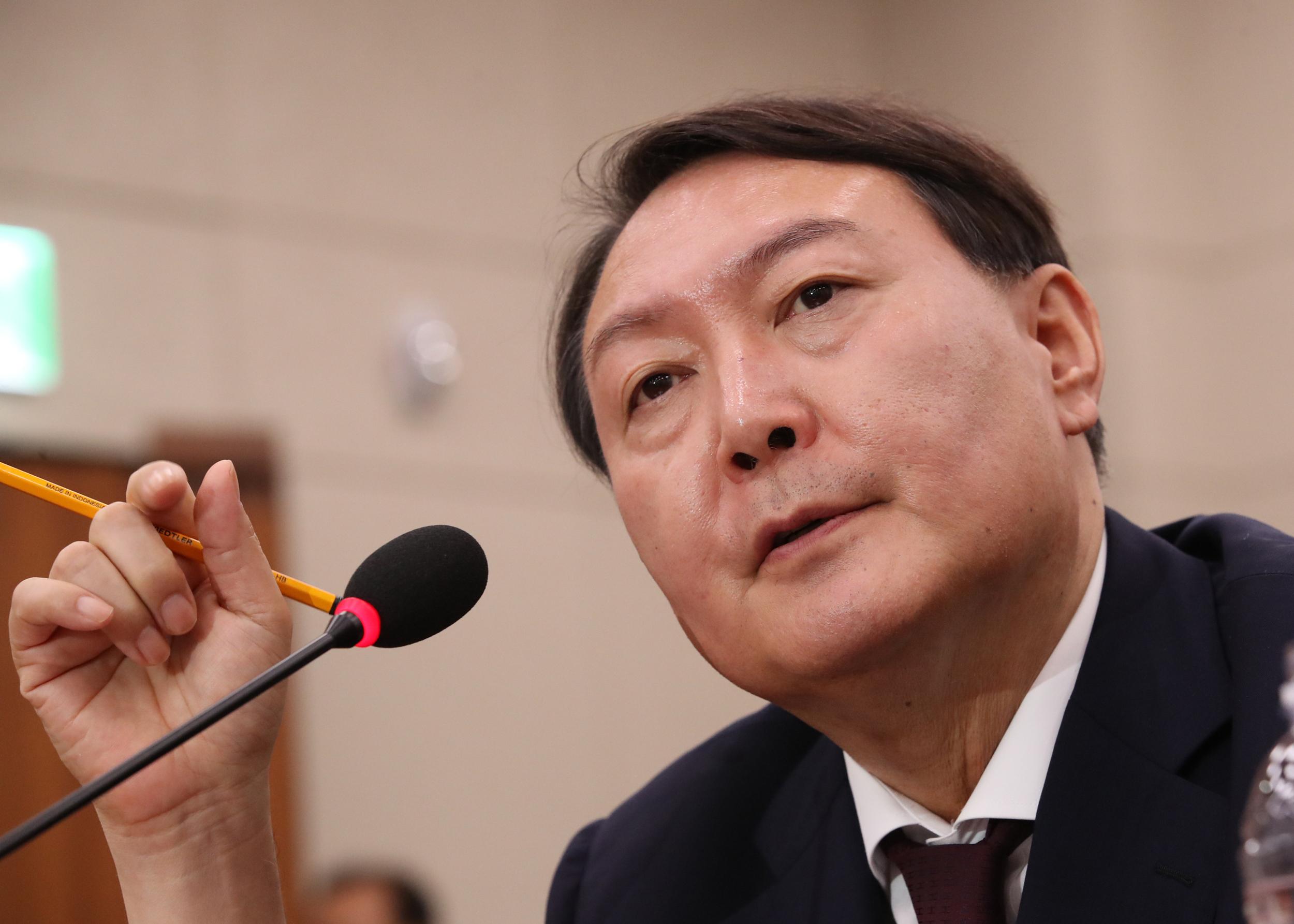 prosecutor general nominee Yoon Seok-youl <Photo: Yonhap News>