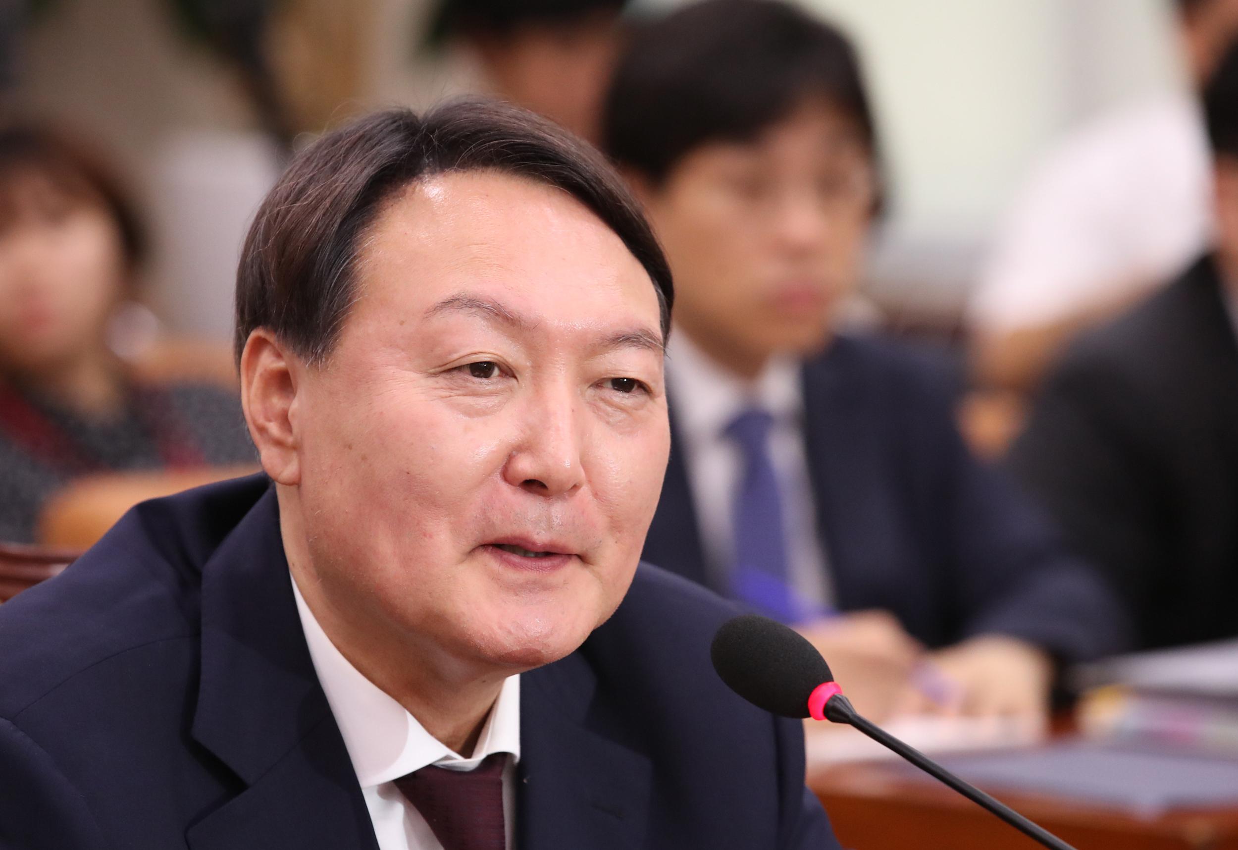 Veteran prosecutor Yoon Seok-youl <Photo: Yonhap News>