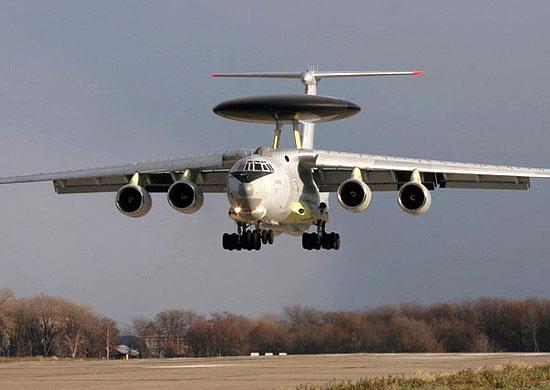 러시아의 A-50 조기경보통제기 <사진=연합>