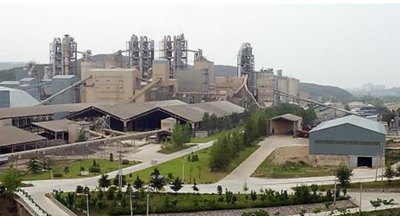 국내 시멘트 공장 <사진=연합>