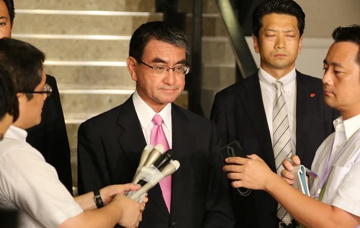 Japanese Foreign Minister Taro Kono <Photo: Yonhap News>