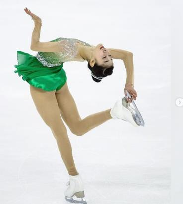 South Korean figure skater Wi Seo-yeong <Photo: Yonhap News>