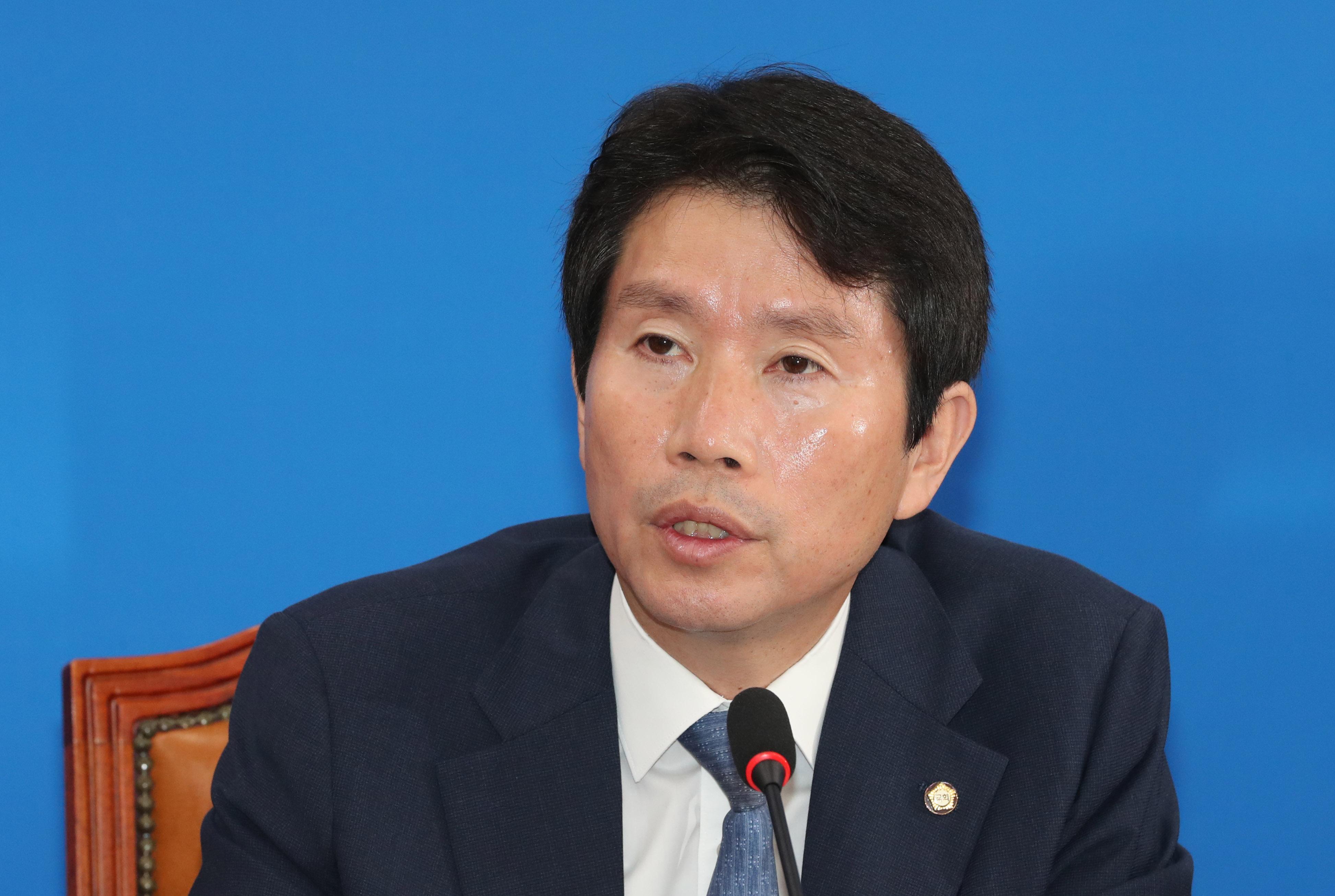더불어민주당 이인영 원내대표<사진=연합뉴스>