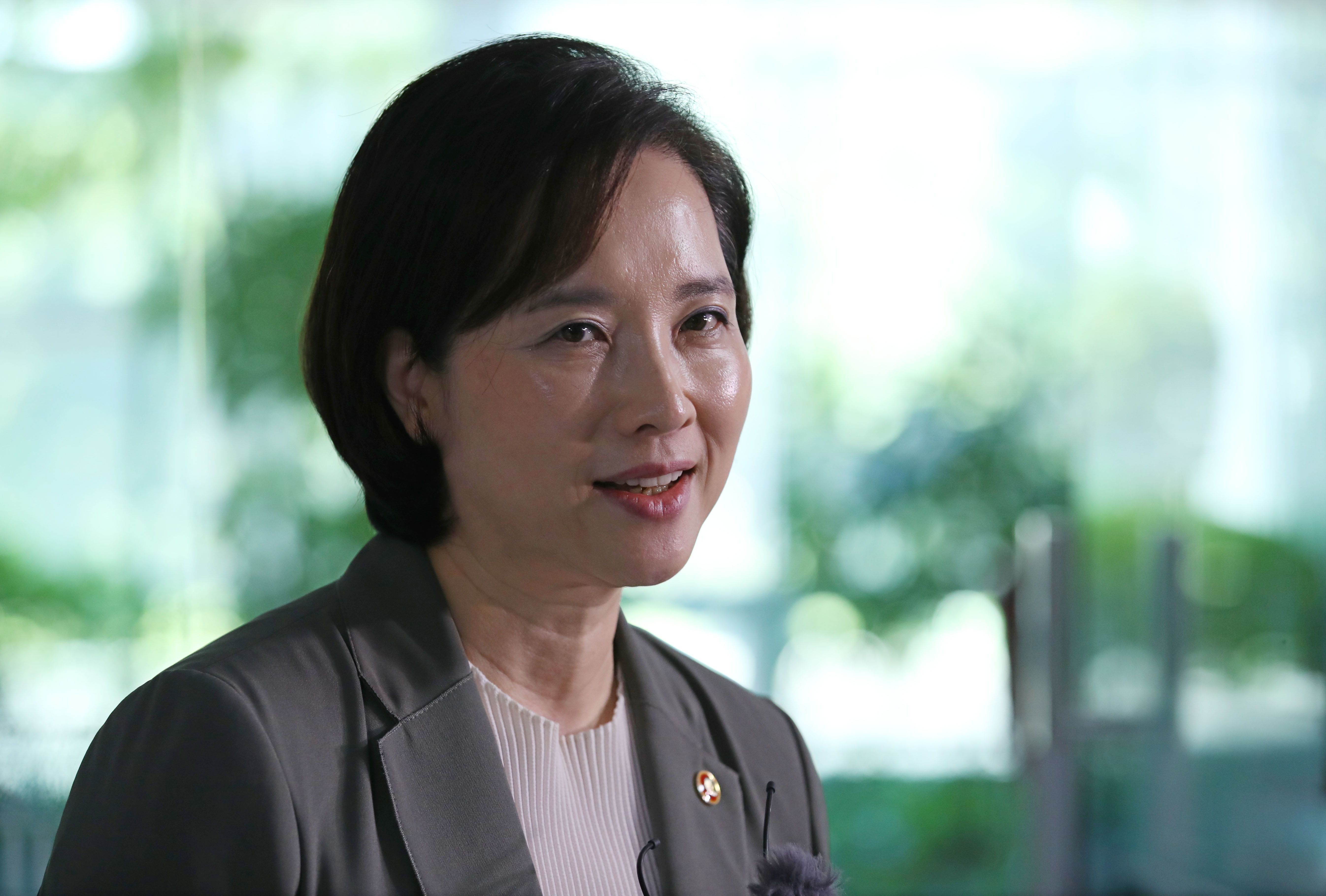 유은혜 사회부총리 겸 교육부 장관 <사진=연합>