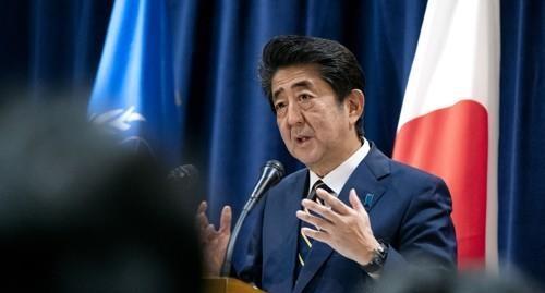 아베 신조 일본 총리 <사진=연합>