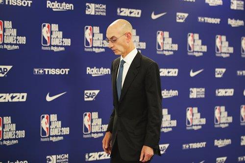 애덤 실버 NBA 총재 <사진=연합>