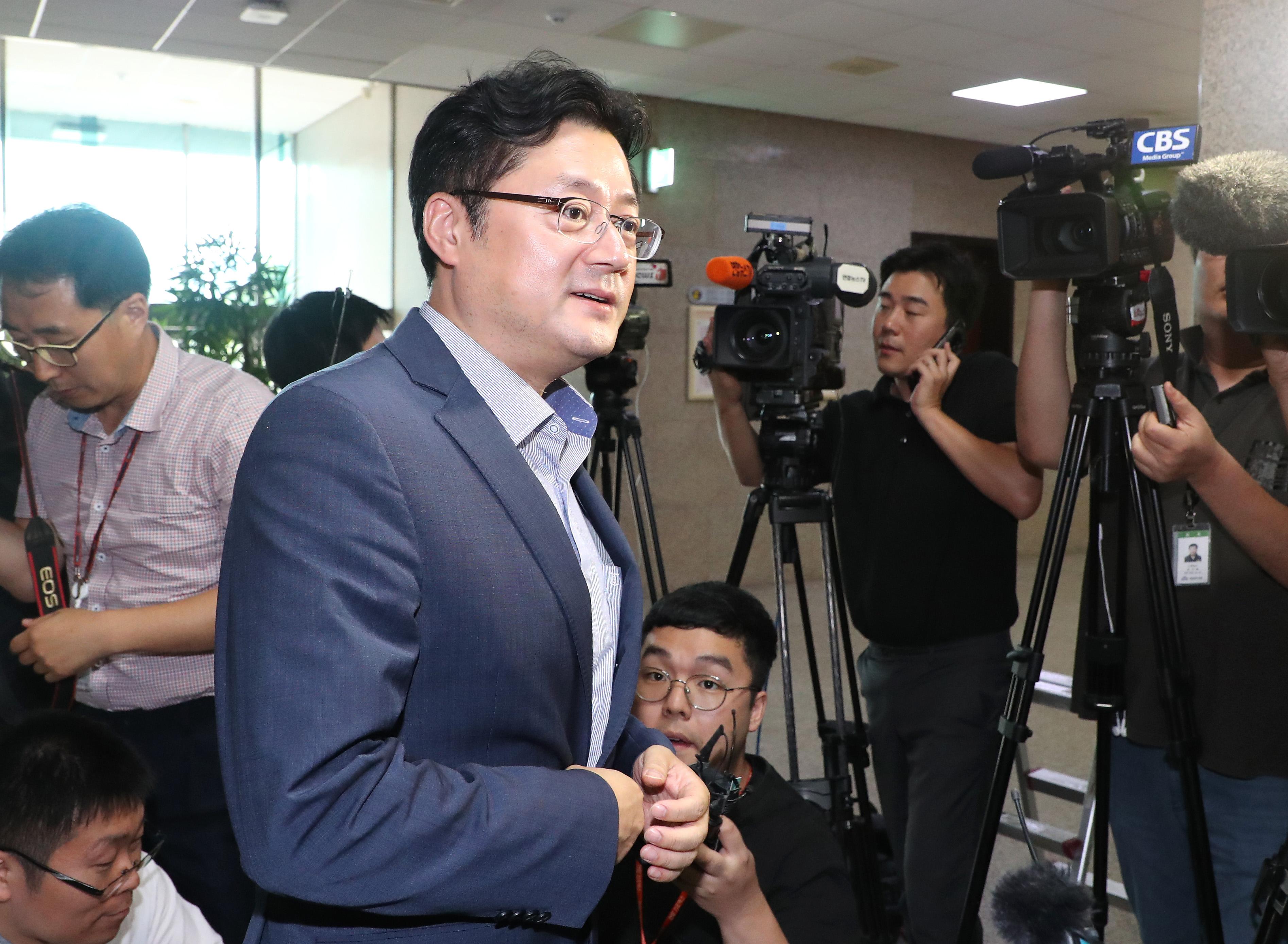더불어민주당 홍익표 수석대변인<사진=연합뉴스>