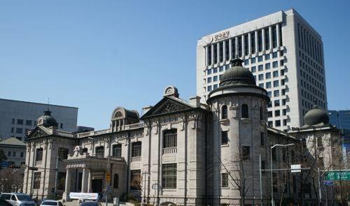 한국은행 전경