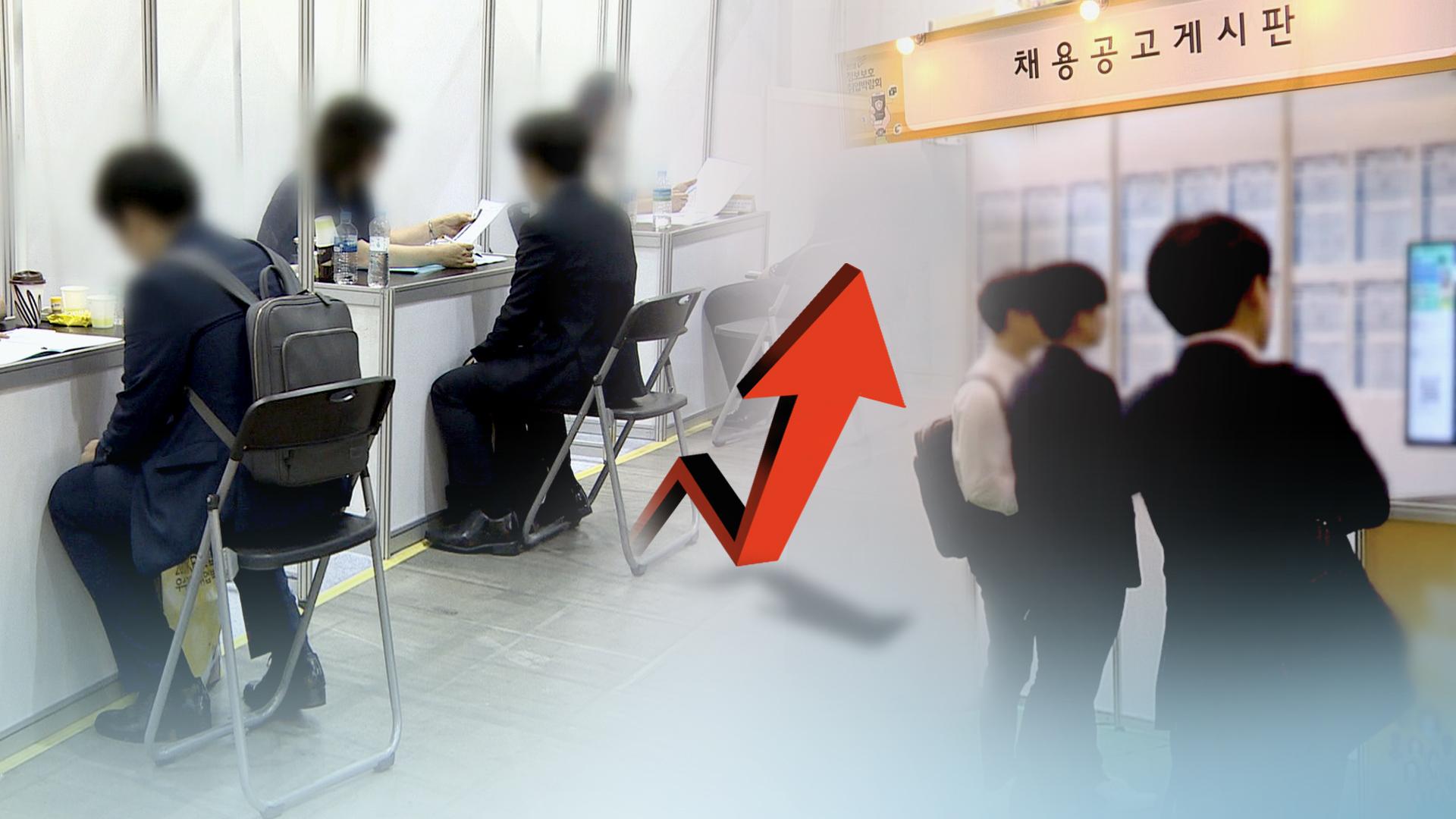 취업자 수 증가 <사진=연합>