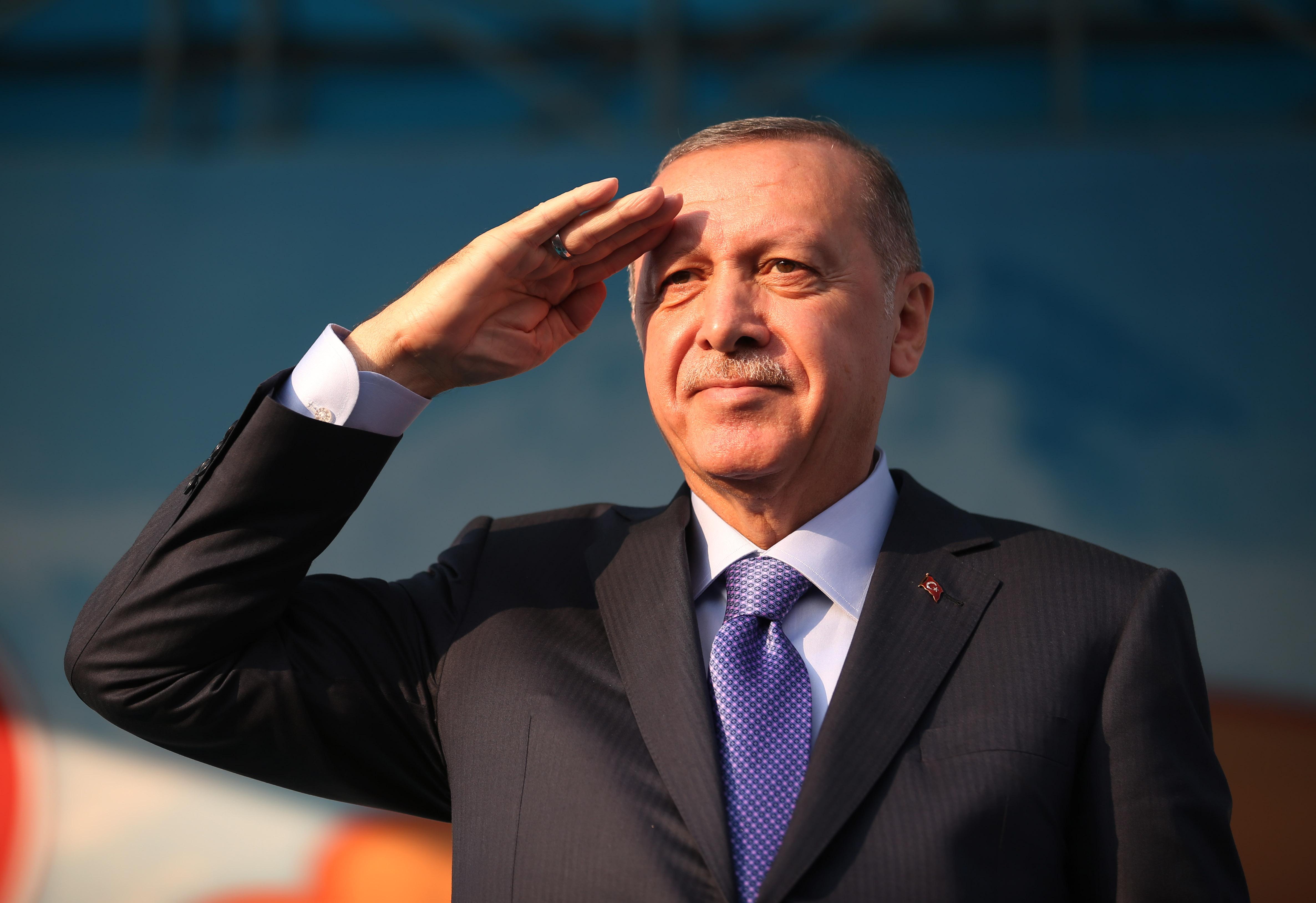 레제프 타이이프 에르도안 터키 대통령 <사진=연합>