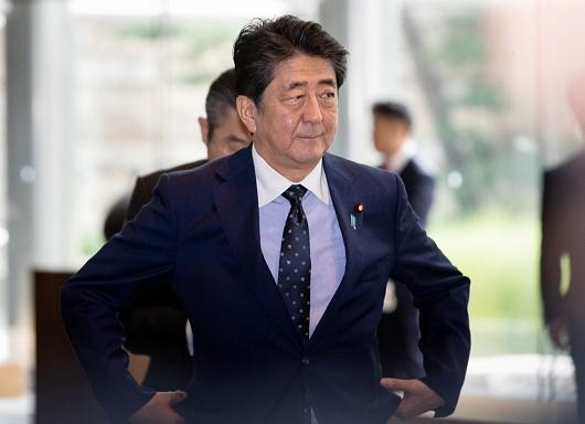 아베 신조 일본 총리<사진=연합>