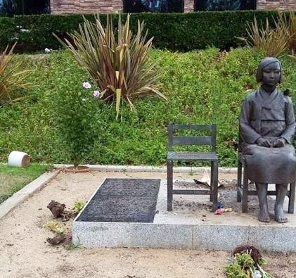 A statue symbolizing victims of Japan's wartime sexual slavery in California <Photo: Yonhap News>