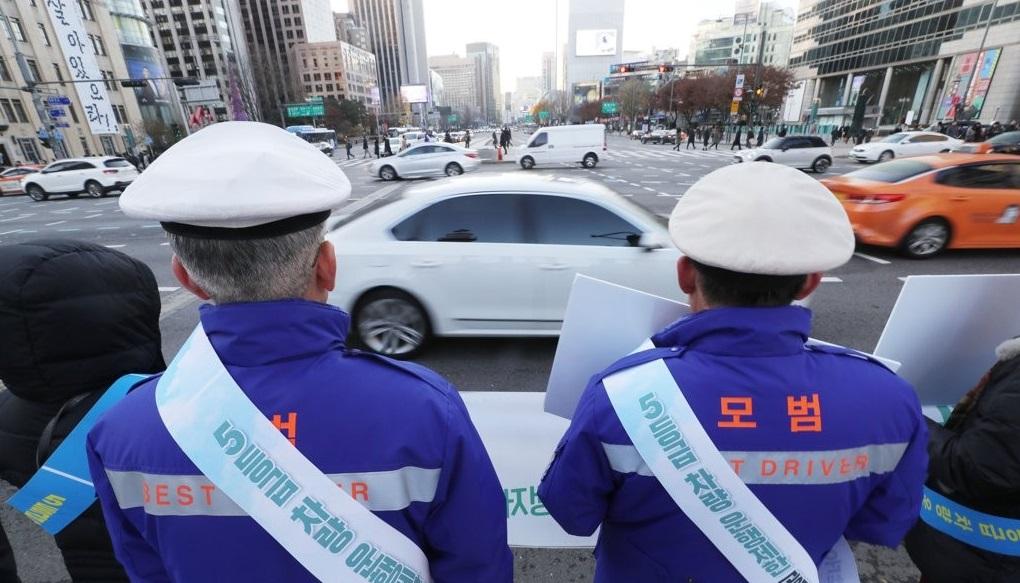 서울 도심 5등급 차량 제한 캠페인