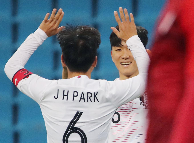 2019 동아시안컵 한국과 홍콩의 경기