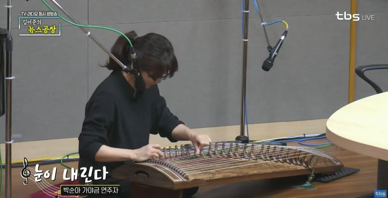 박순아 가야금 연주자