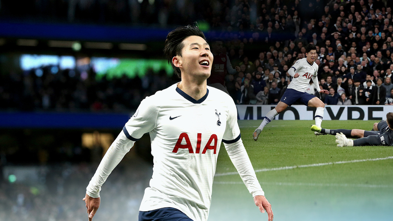 South Korean footballer Son Heung-min