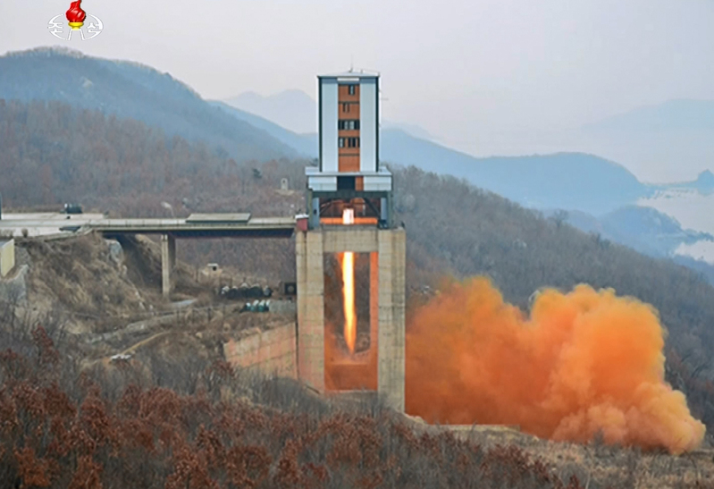 North Korea's Sohae satellite launching site