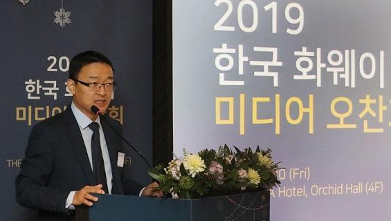 Karl Song Kai, vice president at Huawei Technologies Co.